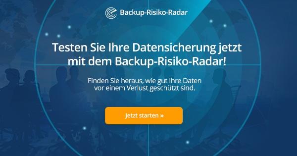 Kennen Sie Ihre Backup-Risiken?