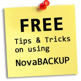 Automatisches Backup mit NovaBACKUP einrichten
